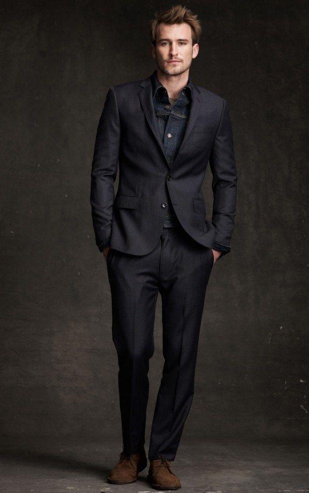 20 Best Black Suit For Men | Black suits and Man men