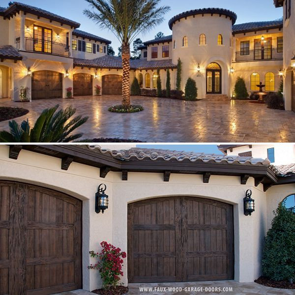 Mediterranean Homes Designs: Ultra Luxury Custom Home Builder Jorge Ulibarri Uses Faux