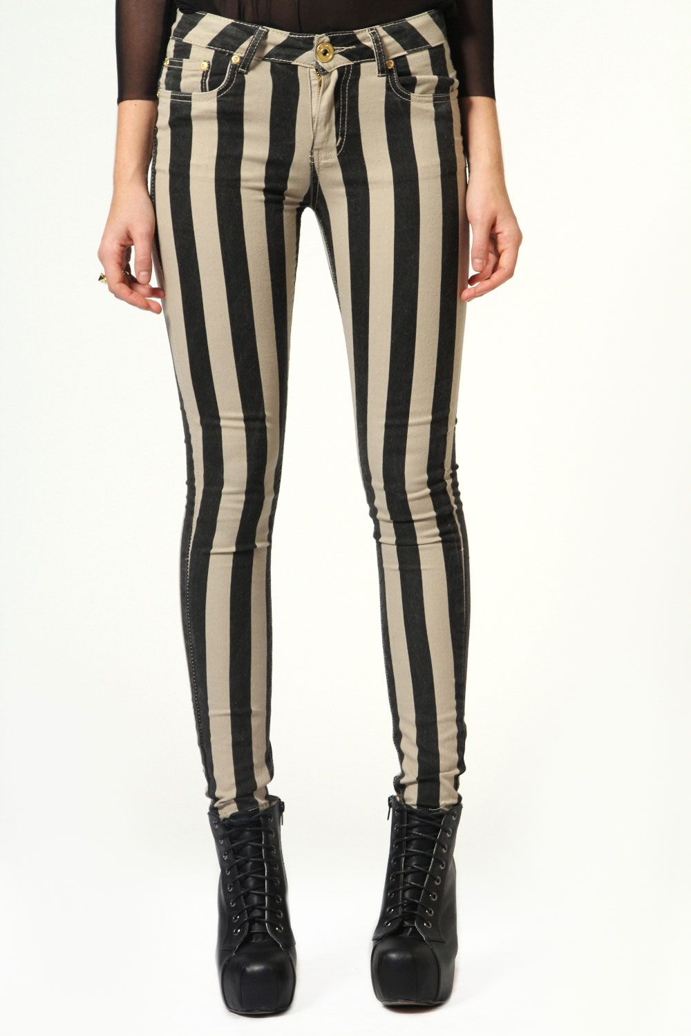 0bf218a391f Lolita Thick Striped Skinny Jeans £10.00 (sadly it s not in my size for  this color.)