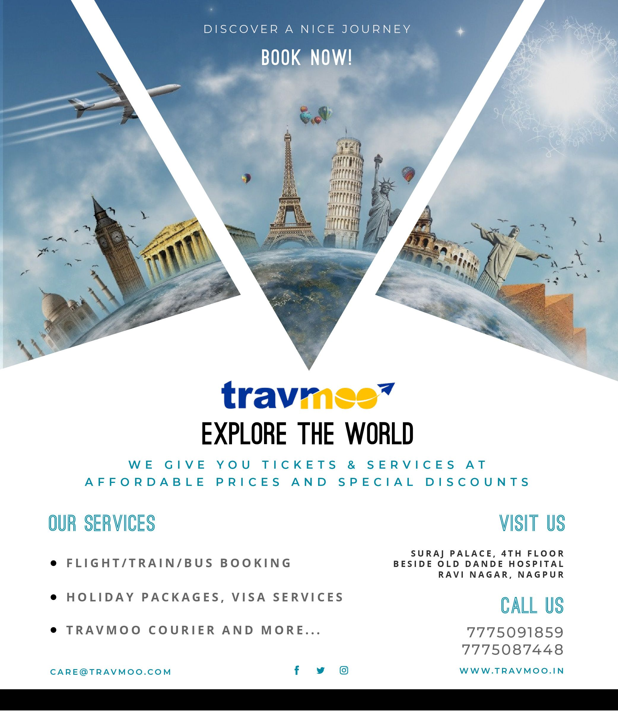 travmoo.in is one of the leading online travel portal of