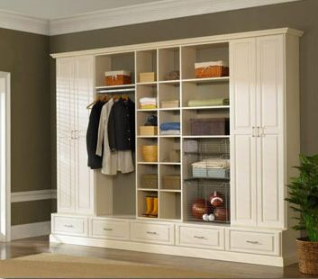 Wall Unit Storage In Ivory Wood Melamine By Rubbermaid The Custom