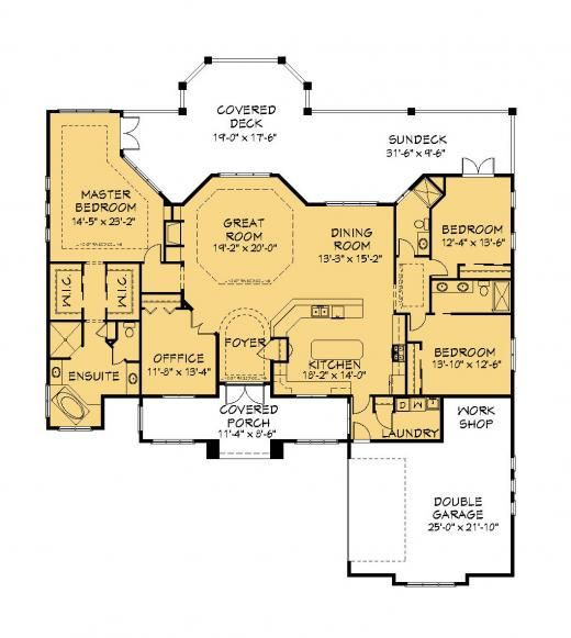 house plan information for e1083 10 2700 sq ft house
