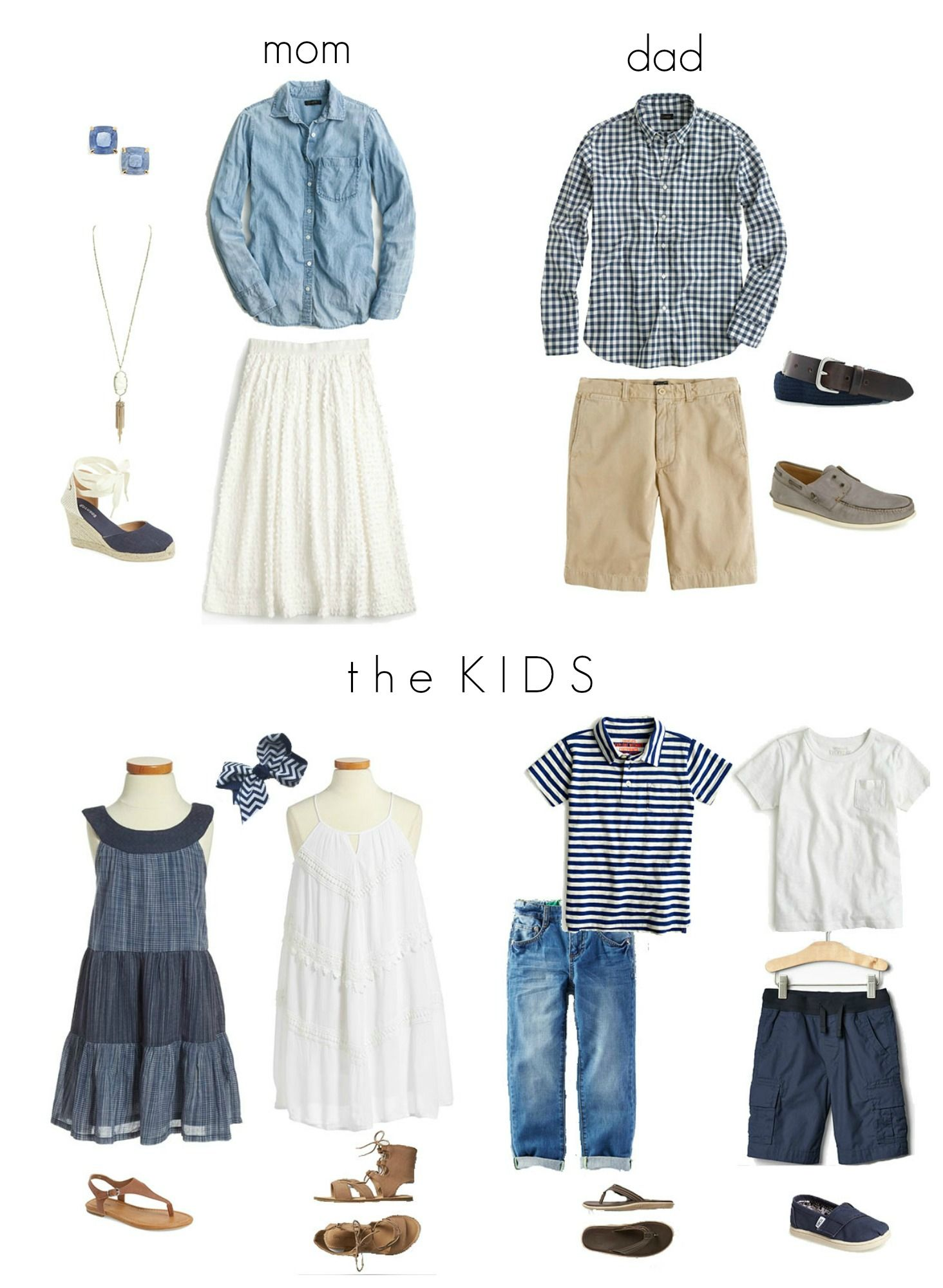 For Family Pictures What To Wear For Family Photos Jenna Martin Family Photographer