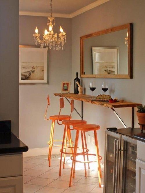 Reivindicando mesas para cocinas pequeñas, hemos dado con un buen ...