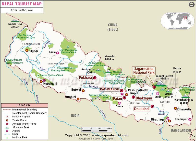 Nepal Tourist Places Images