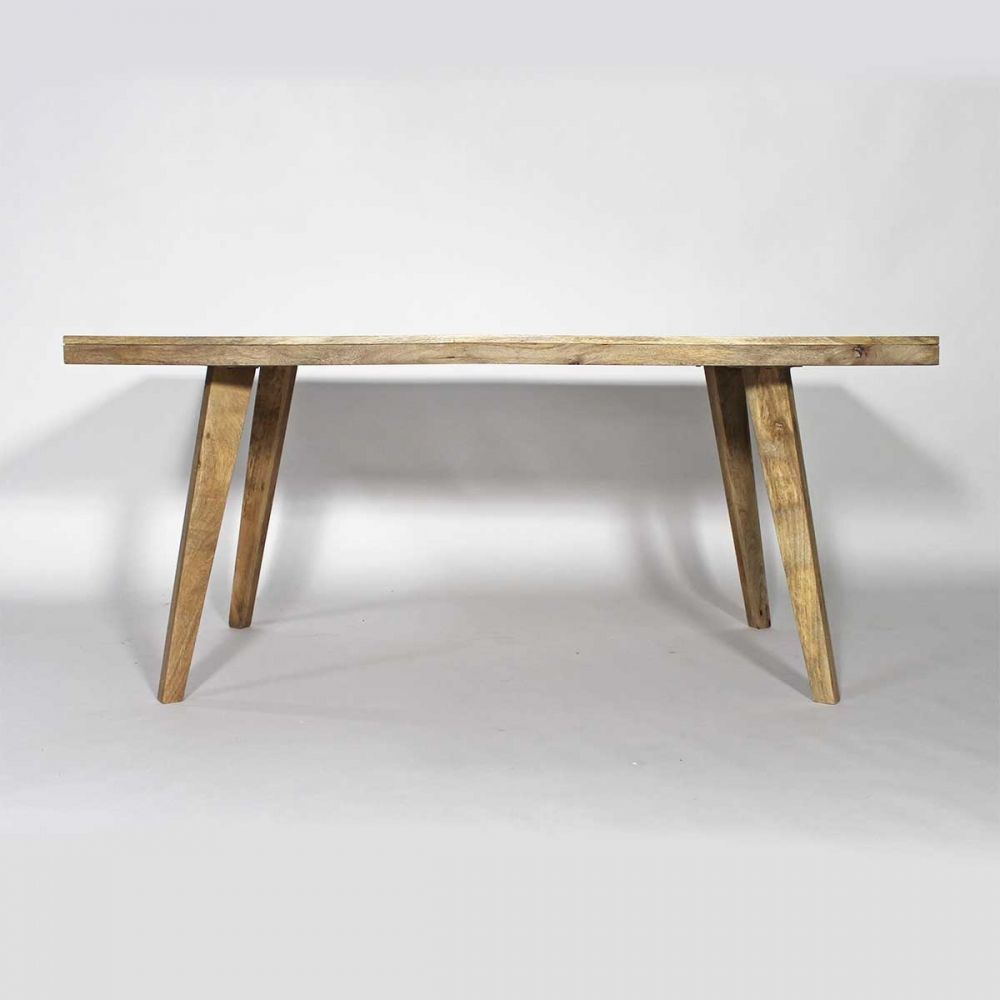 Table Manger Scandinave Table Style Scandinave Style  # Banc Bois Clair Massif