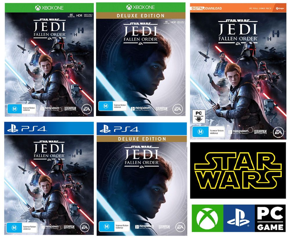 Details About Star Wars Jedi Fallen Order Sony Ps4 Xbox One Pc