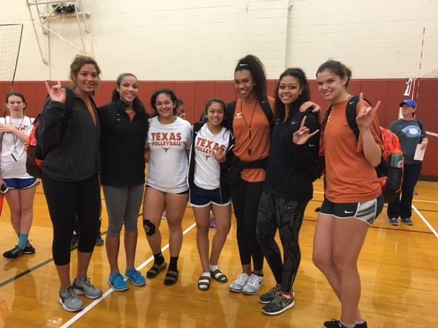 Volleycats Travel To Division I Schools To Attend Summer Camps Far From Home Panthers Elite 15s Setter Anuhea Morgan Johnson University Of Texas Kendall White