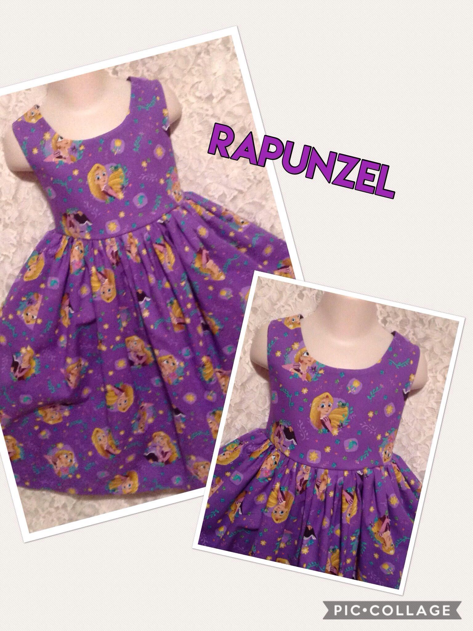 Tangled Rapunzel * Disney classic jumper style dress