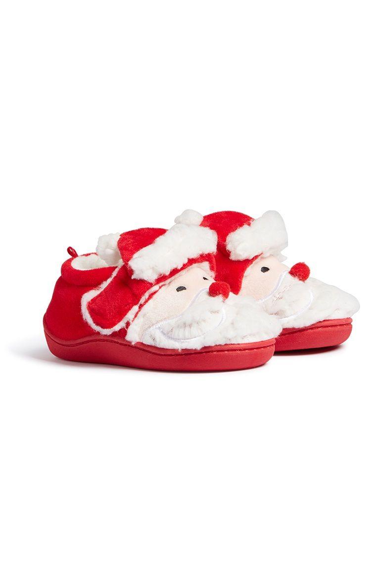 Primark - Baby Girl Santa Bootie | Baby girl, Baby, Baby shoes