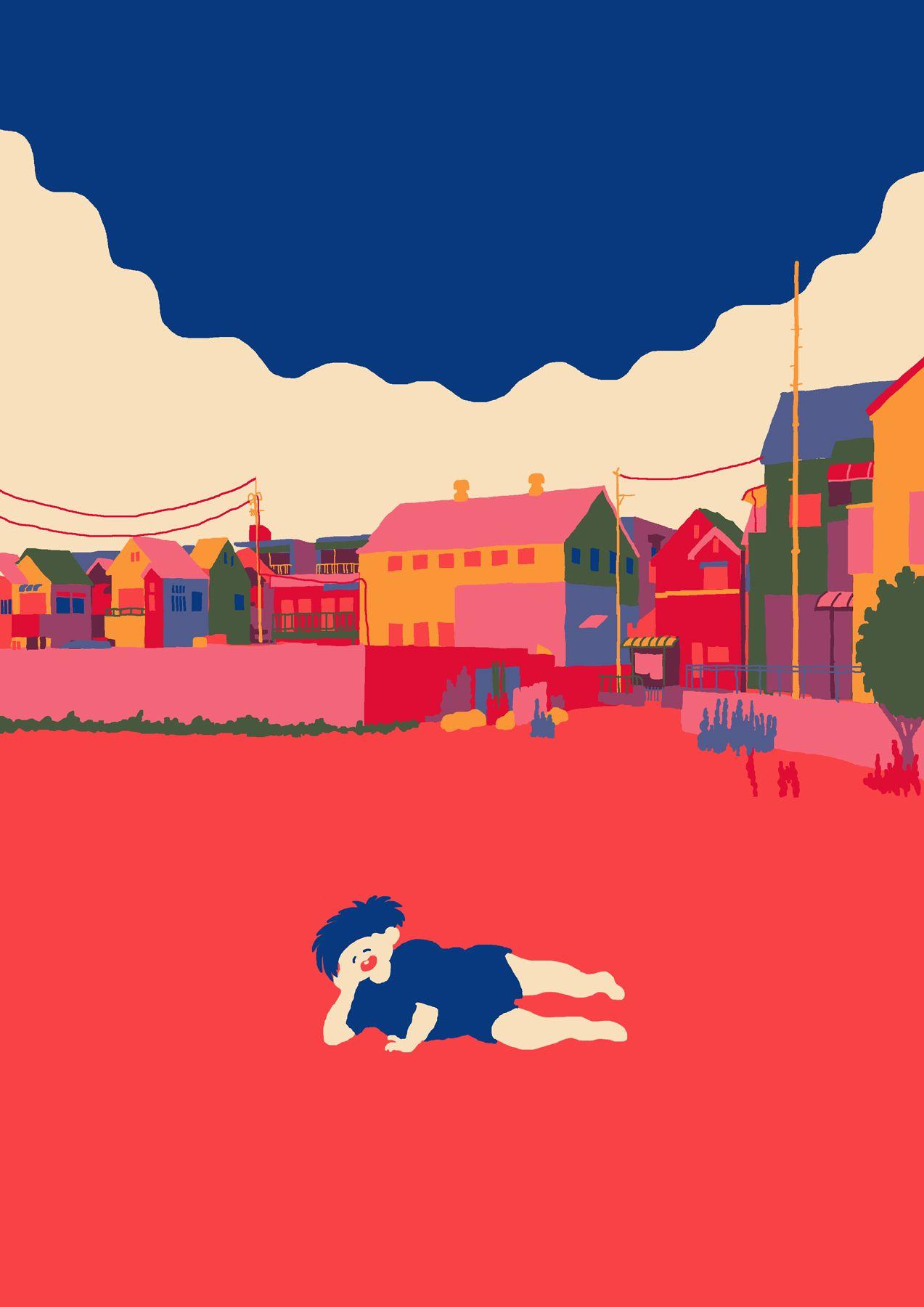 Japanese Illustration: Happy Void. Guugorou. 2015 | Gurafiku: Japanese Graphic Design