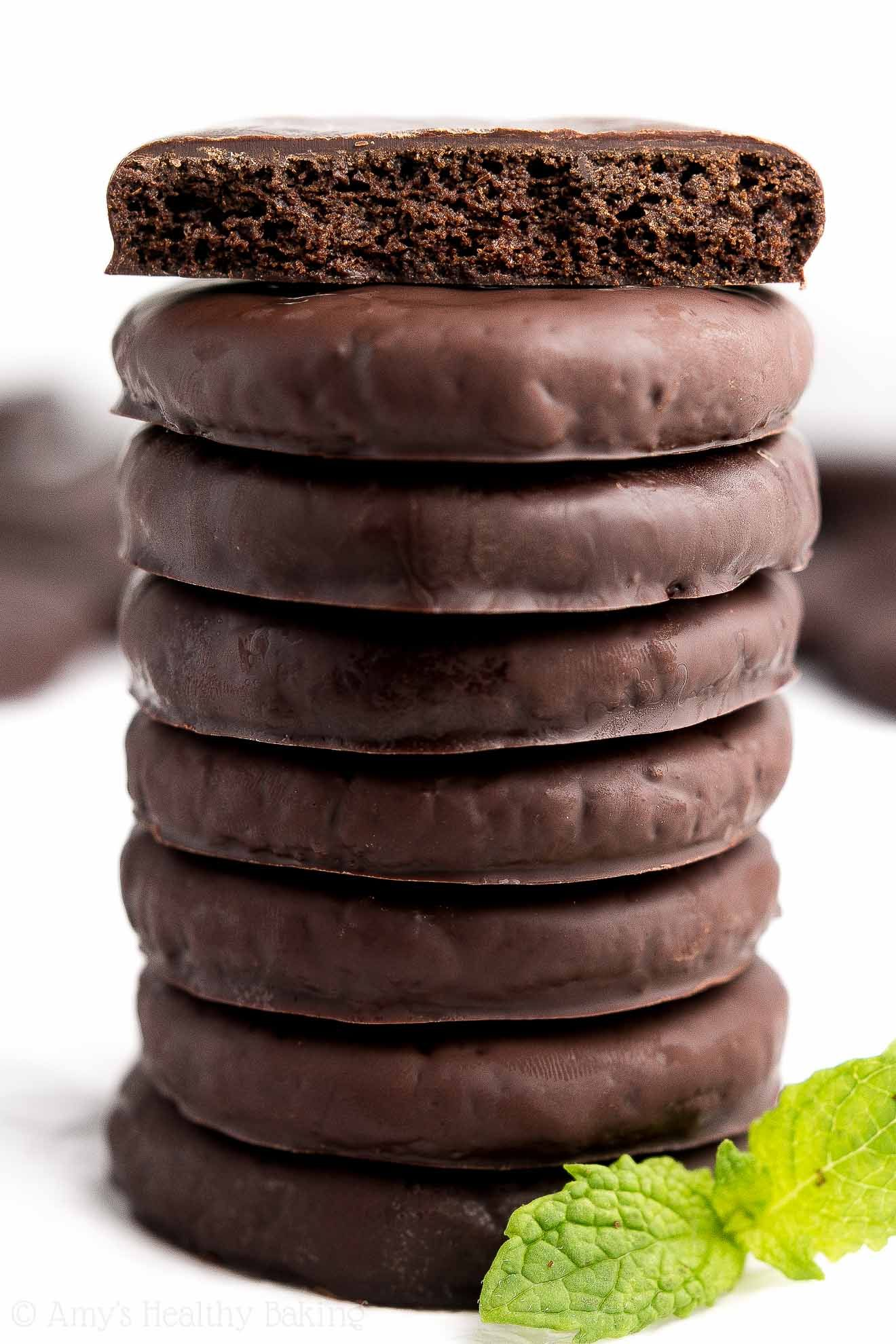 The Ultimate Healthy Homemade Thin Mint Cookies These Taste
