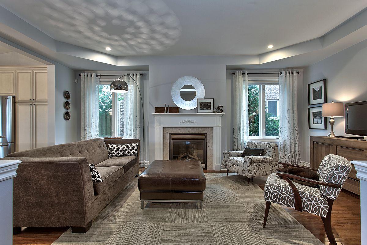 Living room benjamin moore bunny gray benjamin moore - Gray paint living room ...