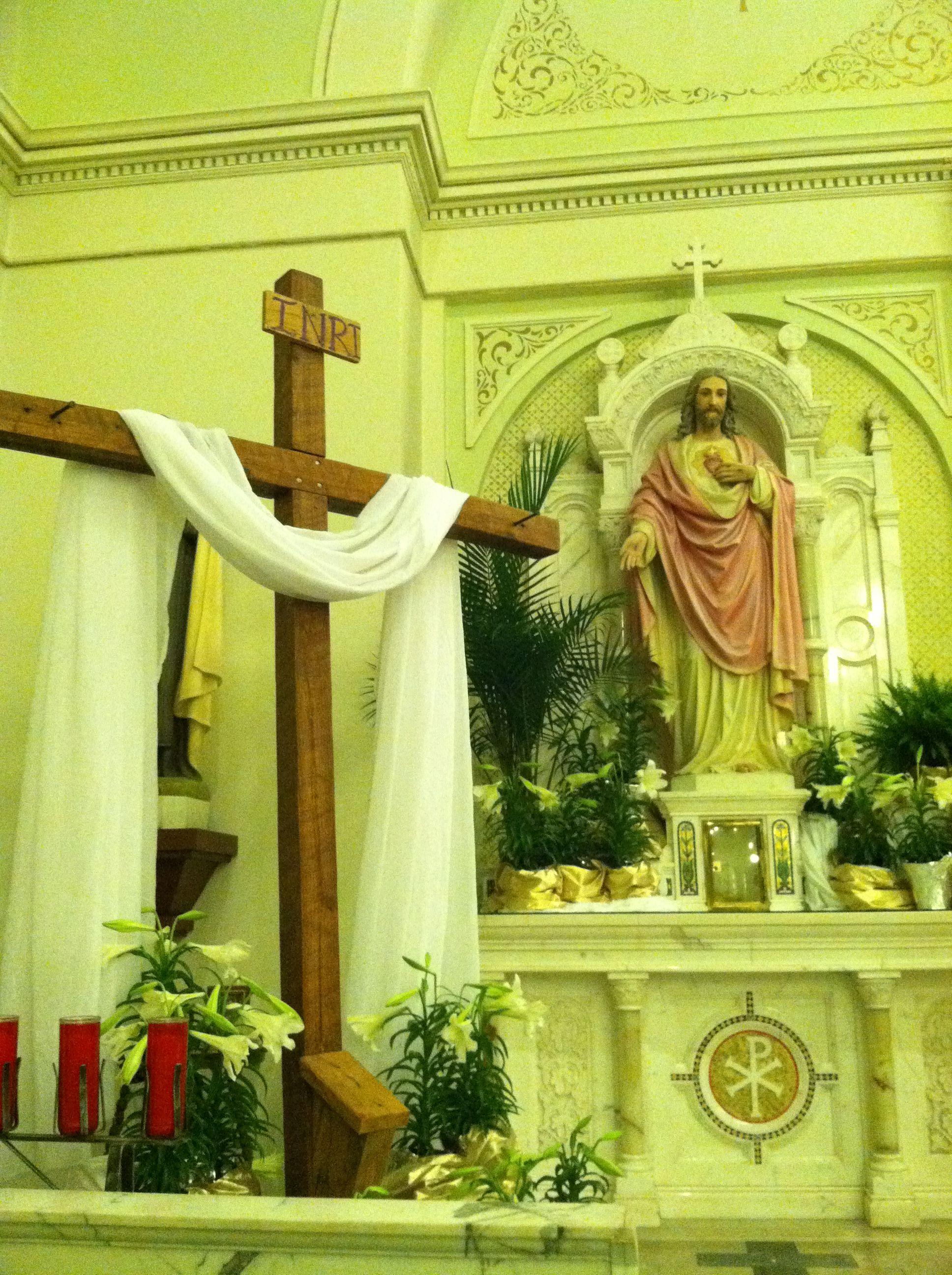 Lent Season in Our Beautiful Chruch St.Edwards Catholic Church in Texarkana, Ar