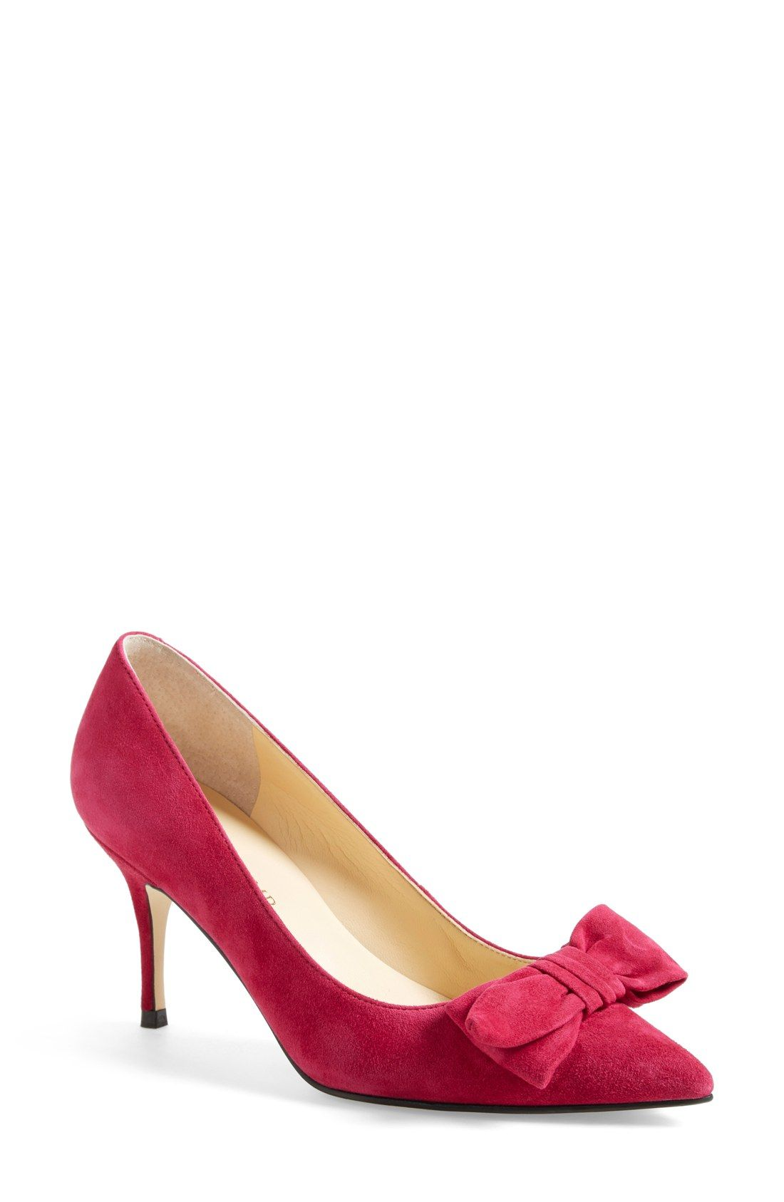 721511ff862 Ivanka Trump 'Benny' Pointy Toe Bow Pump (Women) | Clothes in 2019 ...