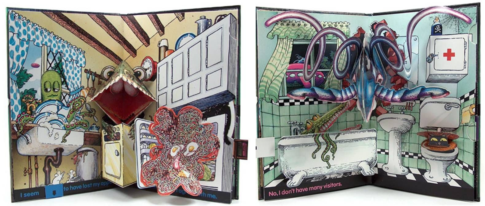 another image from haunted house by pienkowski | Pop up book, Pop ...