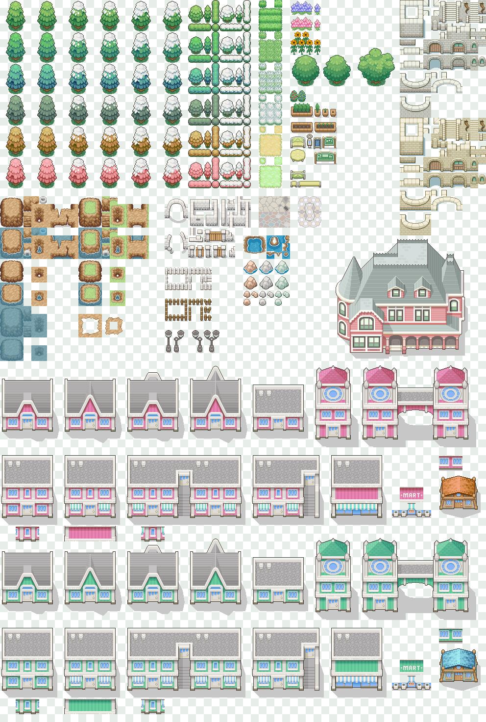 Download tilesets pokemon heartgold rpg maker xp
