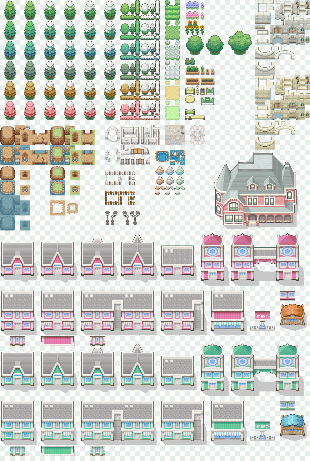 Bunch o' free tiles by Magiscarf deviantart com on @deviantART