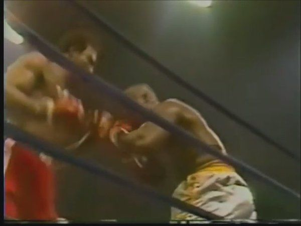 """Boxing History on Twitter: """"CLASSIC KNOCKOUT - @GeorgeForeman TKO5 Joe Frazier in their rematch, from 1976 #boxing #history #knockout https://t.co/uzswKPKBoc"""""""
