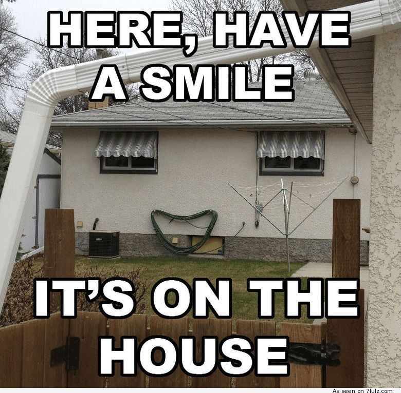 Funny Memes For Realtors : Here have a smile it s on the house funny real estate
