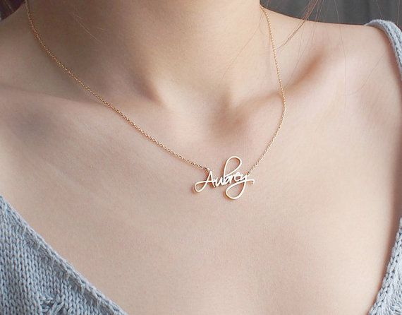 Sterling Silver Custom Double Name Pendant Charm Jewelry Gift for Women Personalized Choker Name Necklace Bridesmaid