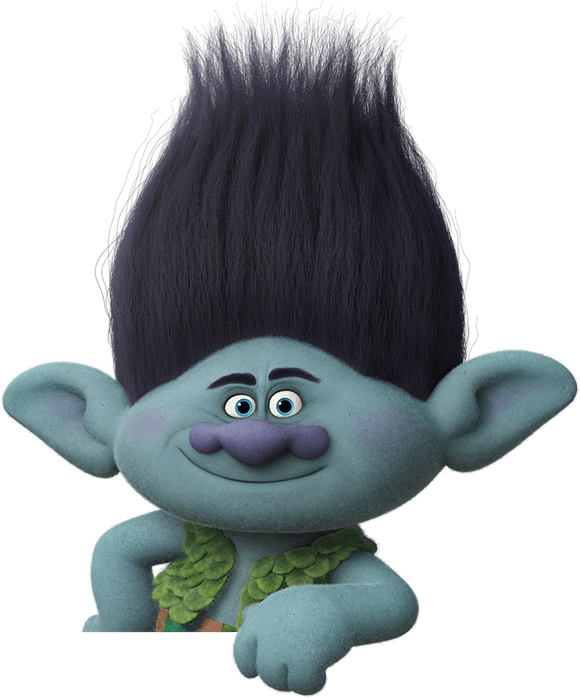 Trolls movie party branch ideas