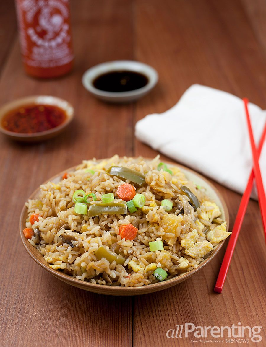 Allparenting vegetable fried rice with homemade teriyaki sauce omit fried rice doesnt have to come in a takeout box instead make it at home with lots of veggies fresh pineapple and homemade teriyaki sauce ccuart Choice Image