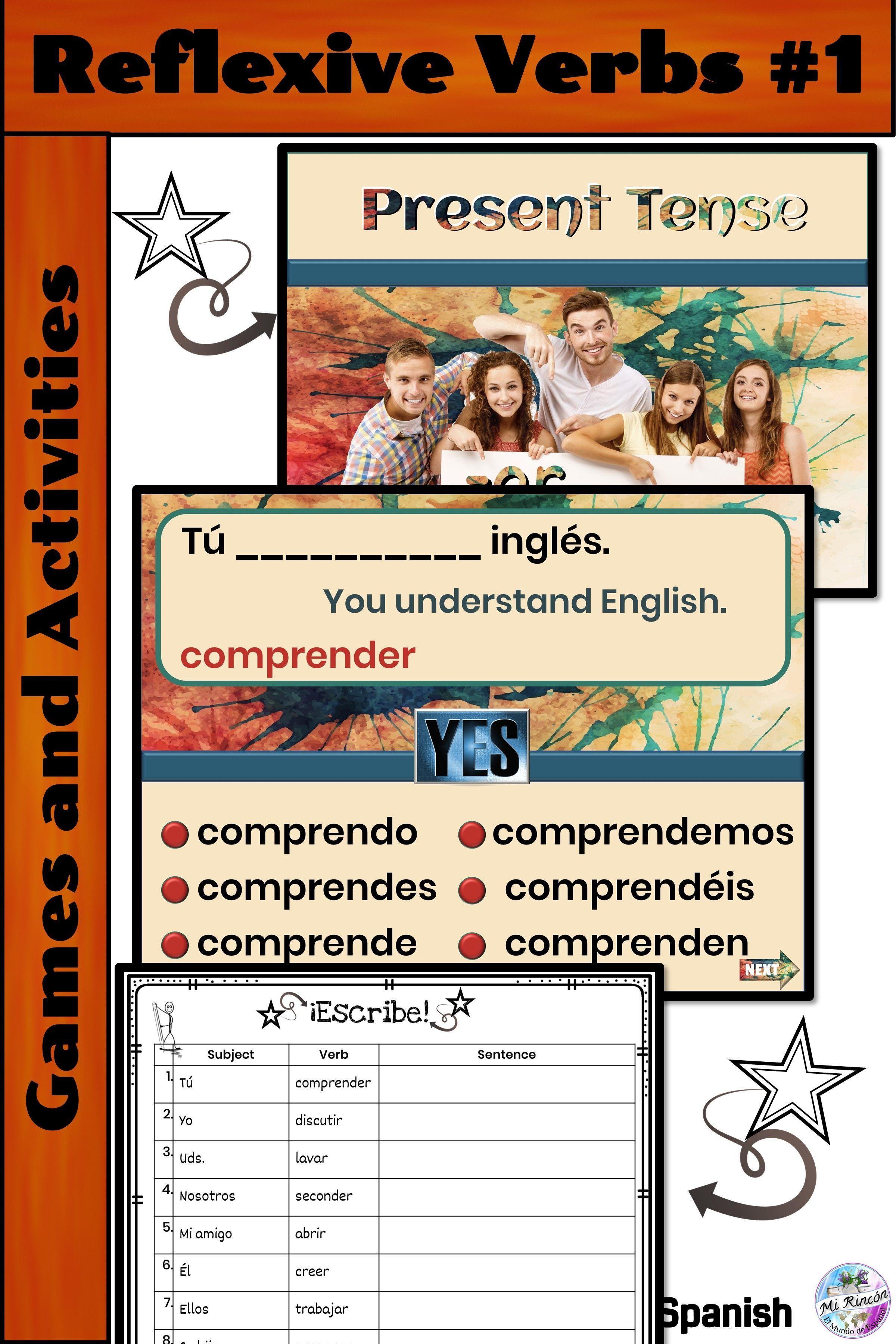 Spanish Present Tense Practice Part 1