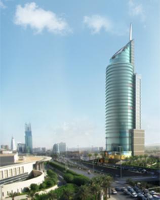 برج العبيكان تحت التنفيذ Landmarks Building Travel