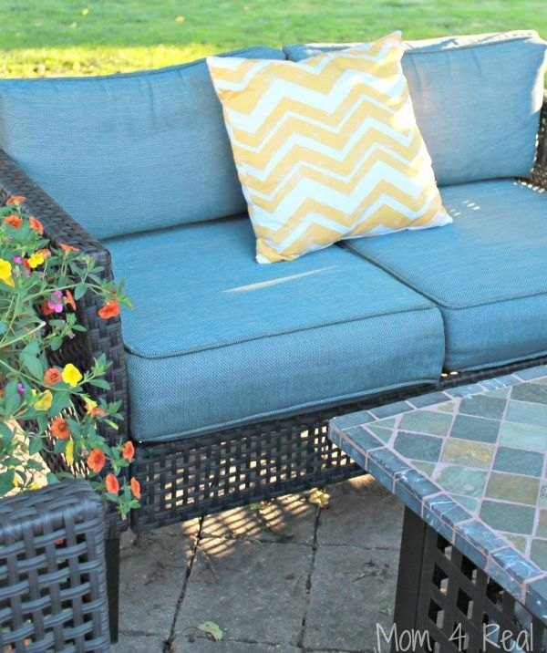 The Easy Way To Clean Outdoor Cushions Helpful Hints Cleaning