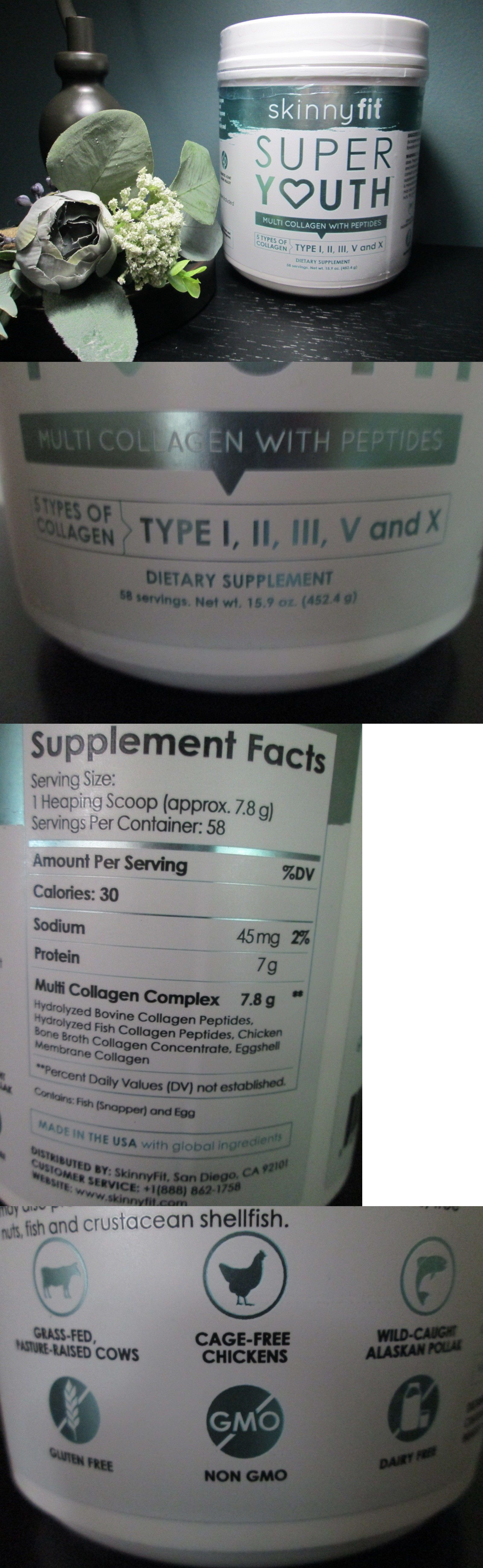 Dietary Supplements 180960 Skinnyfit Super Youth 15 9 Oz Multi
