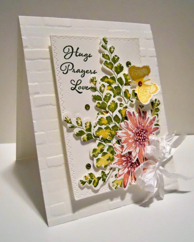 Cc790 Hugs Prayers Love By Karen B Barber At Splitcoaststampers Cards Handmade Birthday Cards Diy Cute Birthday Cards