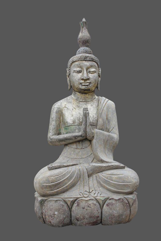 Pin von Asienlifestyle auf Buddha Figur | Buddha Stein Statuen für ...