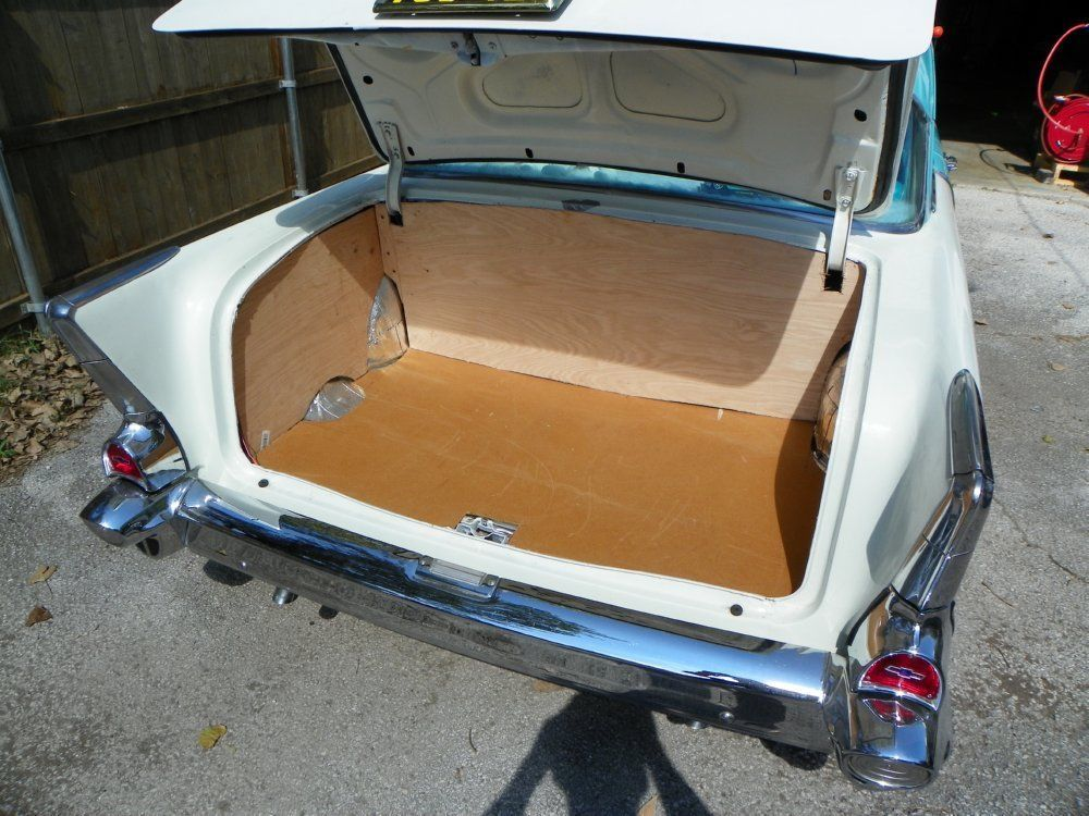 Doorboard 4 Piece Trunk Dress Up Kit Tan For 1955 57 Chevy Chevy Trunks 1965 Chevelle