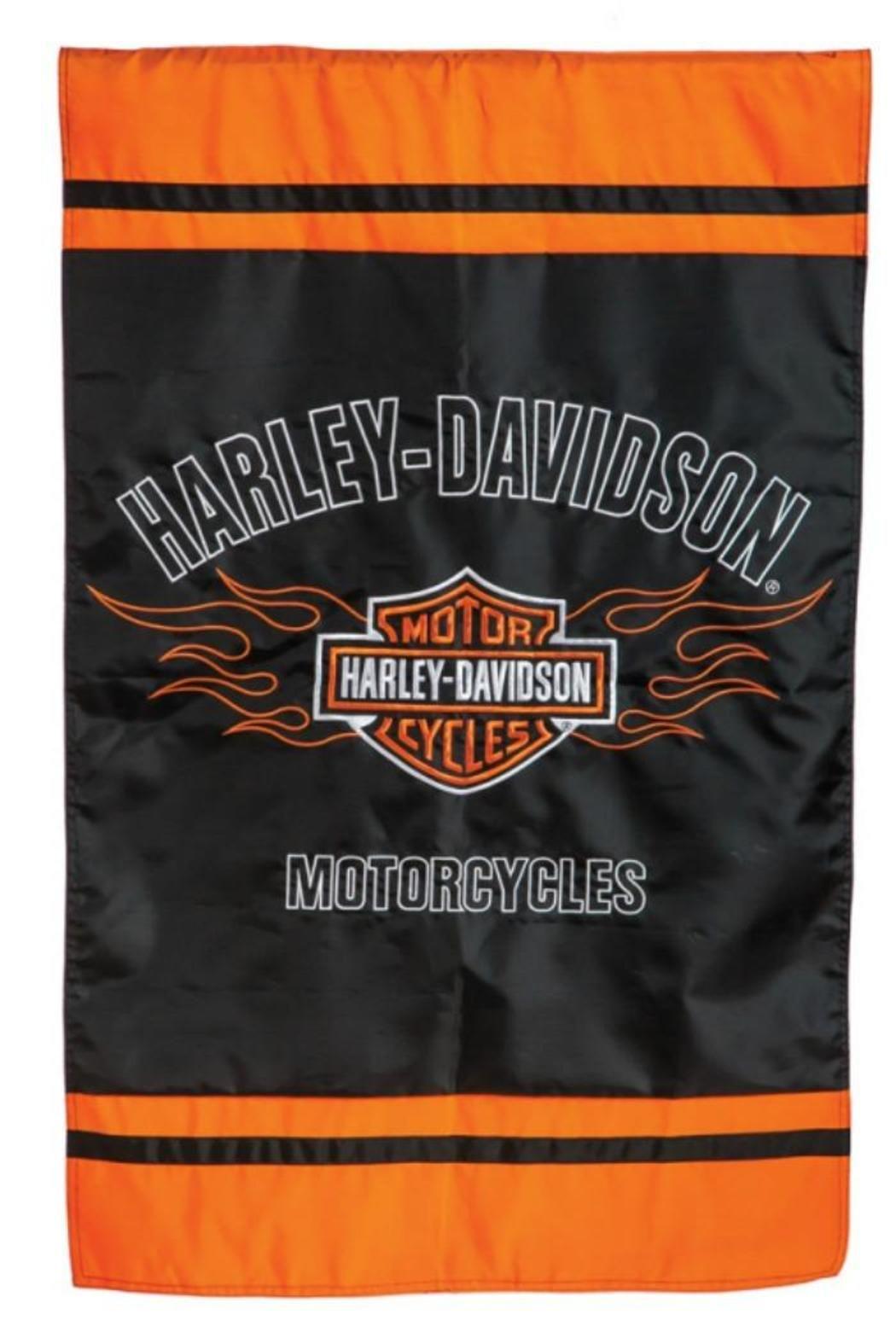 The Purple Porch Harley Davidson Flag