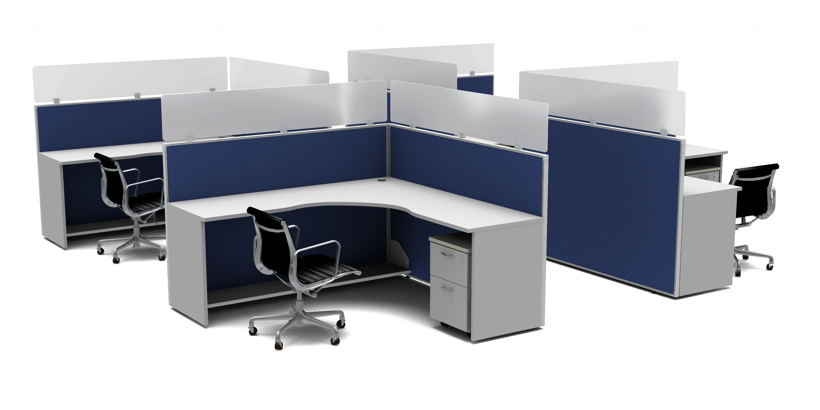 Stackers Cubicle Extender Panels Desk Privacy Solutions Cubicle Walls Cubicle Panels Desk Dividers