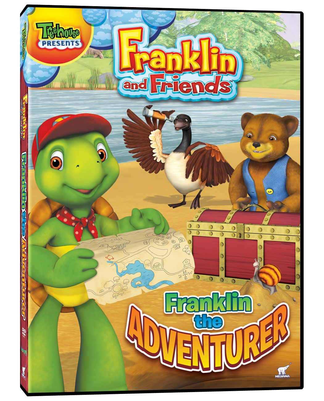 franklin u0026 friends franklin the adventurer kids spring dvds