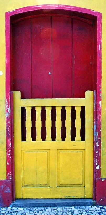 Bahia Brasil door Janelas, Porta janela, Porteiras