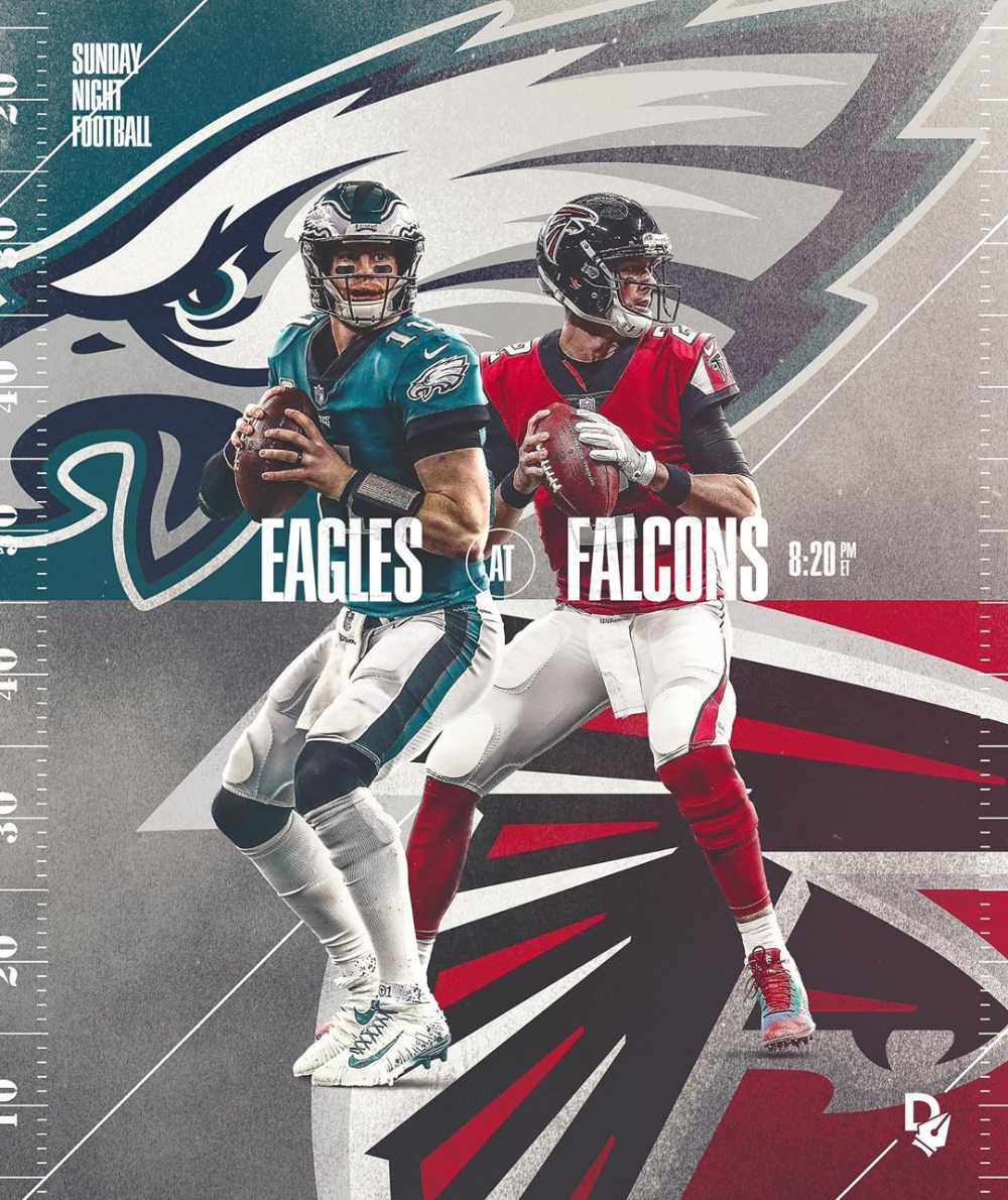 Johnny Silva On Instagram Sunday Night Football Poster Made For Digitalize In 2020 Football Poster Sports Graphic Design Sports Design Inspiration