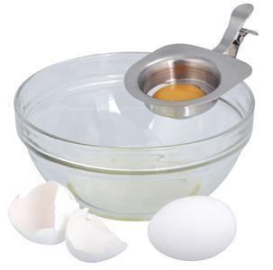 Making egg-white omelettes is a breeze with this egg separator http://www.clasohlson.com/uk/Egg-Separator/34-9964