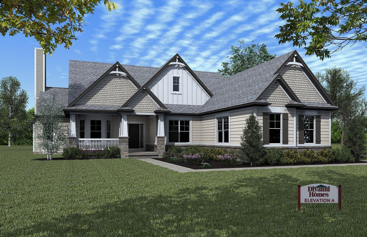 Ranch Plans Diyanni Homes (With images) House design