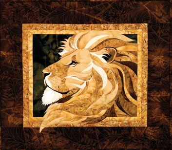 Lion Quilt Patchwork Quilt Patterns Applique Quilts