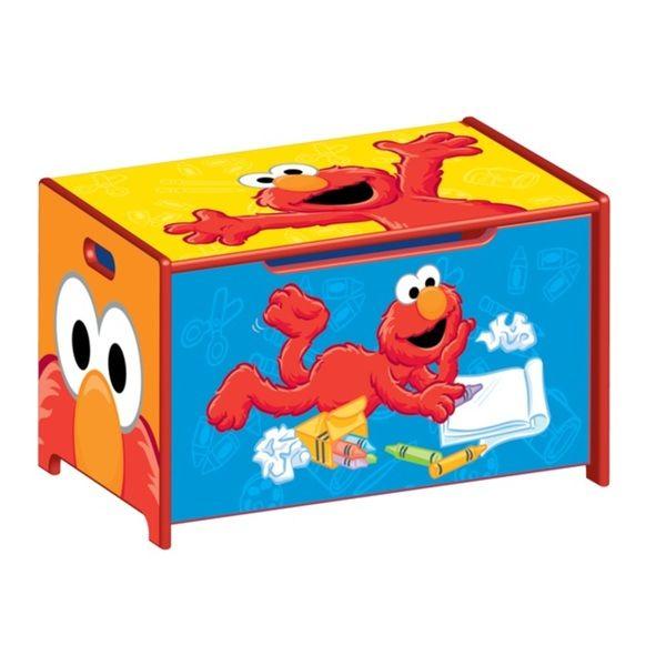 Toy  sc 1 st  Pinterest & Sesame Street Toy Box   Overstock.com   toy storage   Pinterest ...