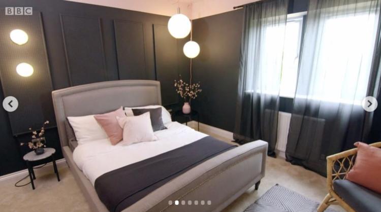 Pink Black Bedroom Walls Netflix Interiors Google Search