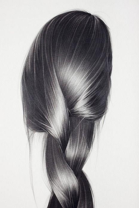 hair like silk. #silky #long #hair