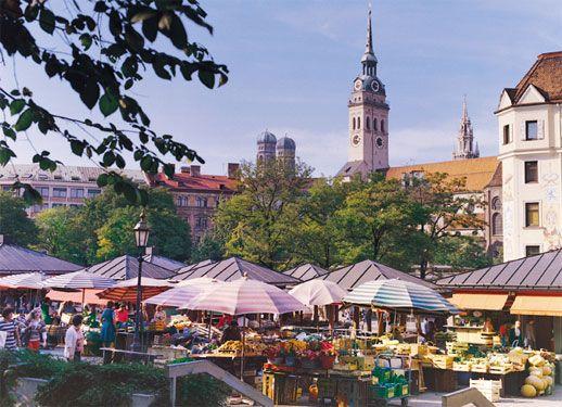 Viktualienmarkt Mojo Travel Munich Hotels Munich Munich Shopping