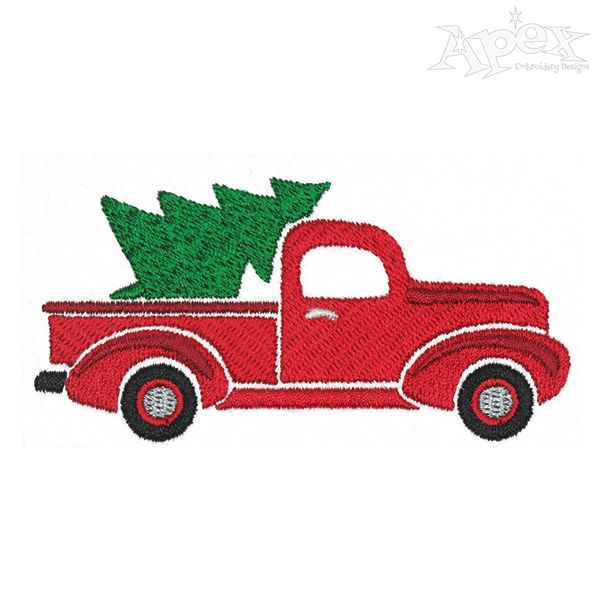 Christmas Tree Truck Embroidery Designs Machine Embroidery Designs Projects Machine Embroidery Designs Christmas Embroidery Designs