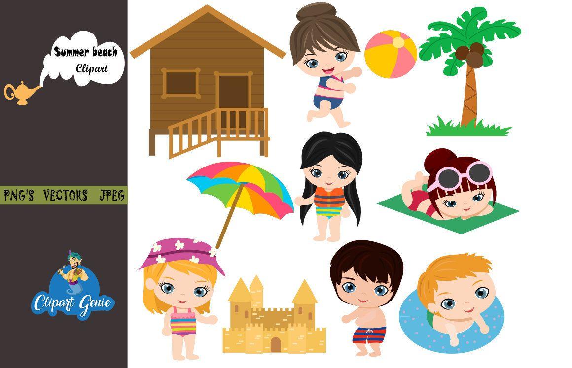 hight resolution of summer beach clipart beach clipart summer clipart vacation clipart bikini clipart