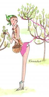 Jardin Kanako Kanako Art Fantaisiste Art Et Illustration