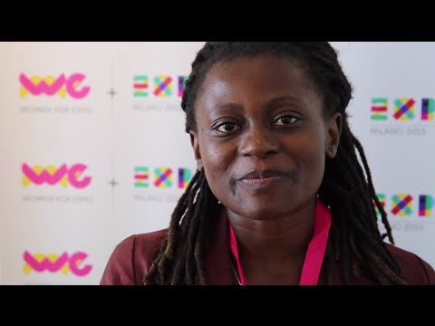 """The founder of the Sustainable Agriculture Tanzania participated in the Women's Forum in Italy """"The other half of the Earth - Women's Weeks"""" at Expo Milano 2015. He says that provide women with the tools to change their own destiny means helping the community .."""